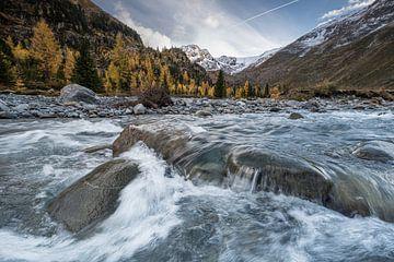 Bergfluss von Rick Ermstrang