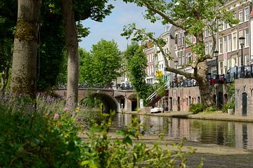 Oudegracht met Smeebrug in Utrecht sur In Utrecht