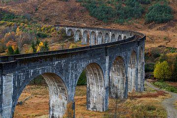 Glenfinnan viaduct, Schotland van Gerben van Buiten