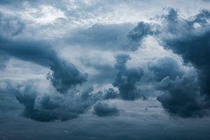 Dramatische wolkenlucht