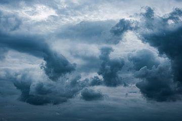 Dramatische Wolkenluft von Eddy Westdijk
