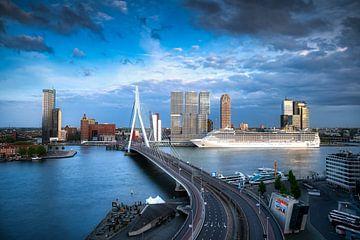 Skyline van Rotterdam von Roy Poots