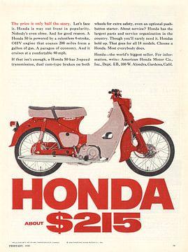 Publicity vintaga HONDA 1965! sur Jaap Ros