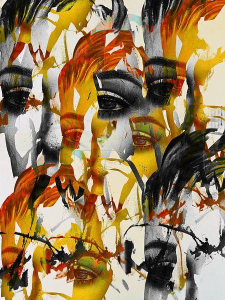 Some eyes  van Gabi Hampe