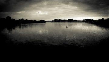 Spookachtig meer van Jonas Demeulemeester