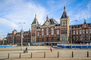 Amsterdam Centraal Station van Fotografie Jeronimo