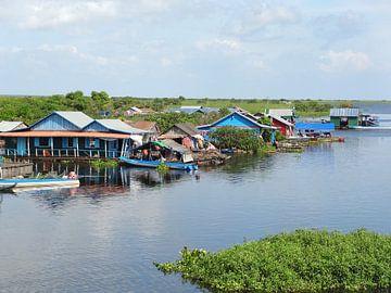 Häuser am Tonle Sap von Achim Prill