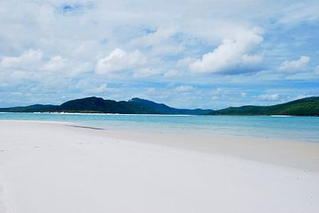 Whitehaven Beach, Queensland Australië van