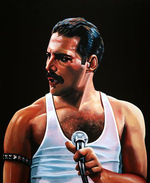 Freddie Mercury schilderij van Paul Meijering