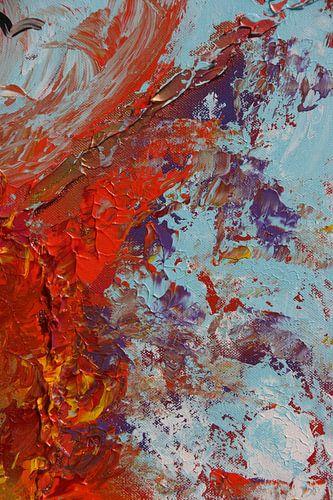 Burning sky 6 van Toekie -Art
