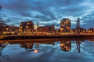 Cereolfabriek en Meyster's Buiten Utrecht avondsfeer. van André Russcher