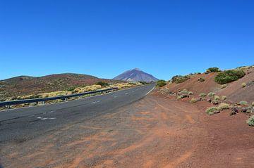 Indrukwekkende vulkaan Teide, de hoogste berg van Tenerife van kanarischer Inselkrebs Heinz Steiner