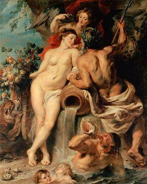 Bündnis der Erde mit dem Wasser - Peter Paul Rubens