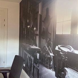 Kundenfoto: Timmermans werkplaats von Frank Hensen, auf nahtloser fototapete