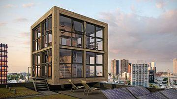 Het Blok van Blok - wonen op het dak van Frans Blok