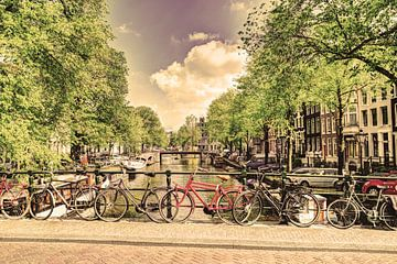 Jordaan Brouwersgracht Amsterdam Grachten Niederlande Alt von Hendrik-Jan Kornelis