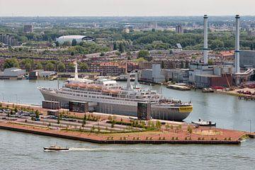 SS Rotterdam, uit de hoogte van Pieter van Roijen