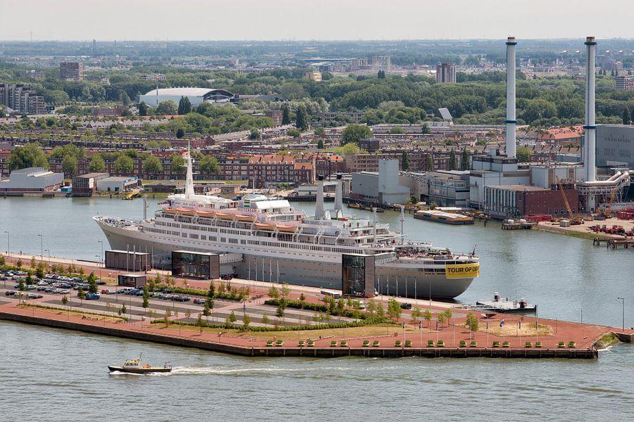 SS Rotterdam, uit de hoogte