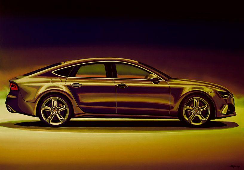 Audi RS7 2013 Mixed Media van Paul Meijering