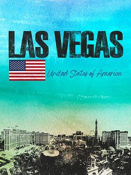 Las Vegas Amerika von Printed Artings