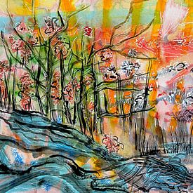 Intens landschap van ART Eva Maria
