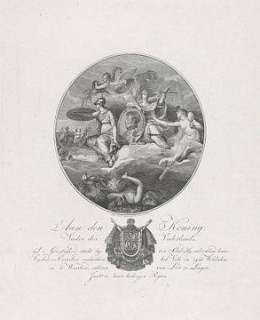 Jan Lodewijk Jonxis, Allegorie zur Verherrlichung von Louis Napoleon, König von Holland, 1806 von Atelier Liesjes