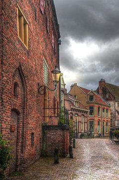 Muurhuizen historisch Amersfoort sur Watze D. de Haan