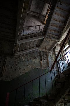 Tschernobyl-Treppenhaus von Rene Kuipers