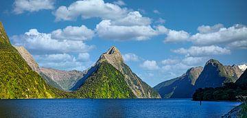 Milford Sound, Neuseeland von Rietje Bulthuis