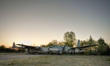Verlaten vliegtuigen von Kurt Dendooven