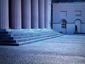 Blauw plein van Anneriek de Jong