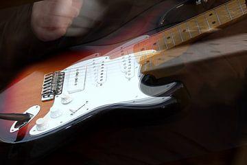 Guitar weep van Abra van Vossen