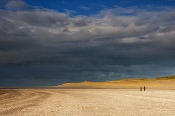 Beachwalk on the Maasvlaktestrand von