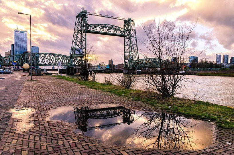 De Hef in guur weer van Prachtig Rotterdam