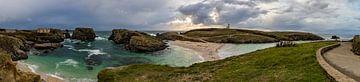 Panorama Pointe des Poulains Belle Ile en Mer von Arthur Puls Photography