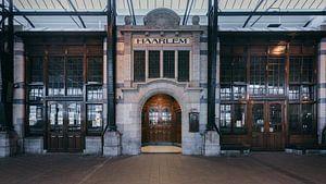 Haarlem: Station perron 3 restaurant van