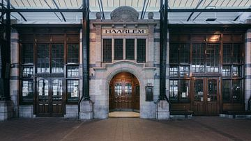Haarlem: Station perron 3 restaurant sur Olaf Kramer