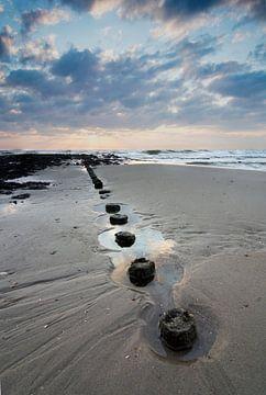 Zonsondergang in Nederland von