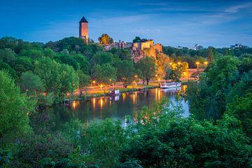 Burg Giebichenstein im Sommer von Martin Wasilewski