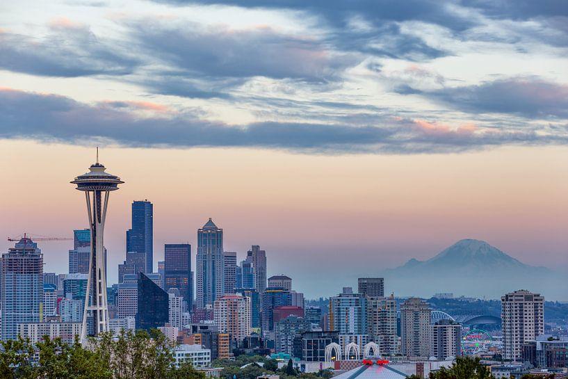Seattle Skyline sur Thomas Klinder