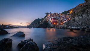 Zonsondergang in Riomaggiore / Cinque Terre