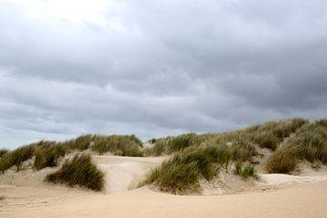 dünen und wolken auf schiermonnikoog von Karijn Seldam