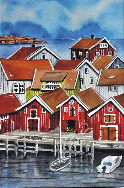 Gullholmen van Thomas Suske