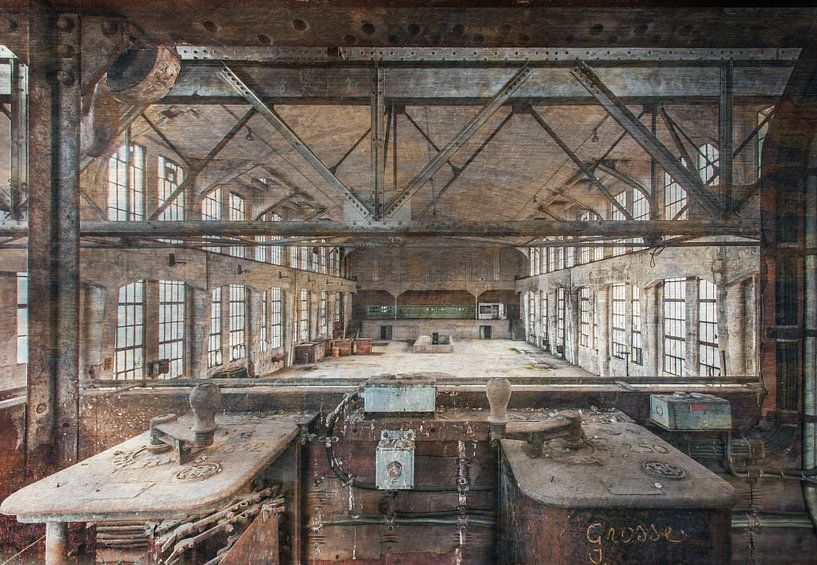Oude Krachtstroomfabriek van Olivier Van Cauwelaert