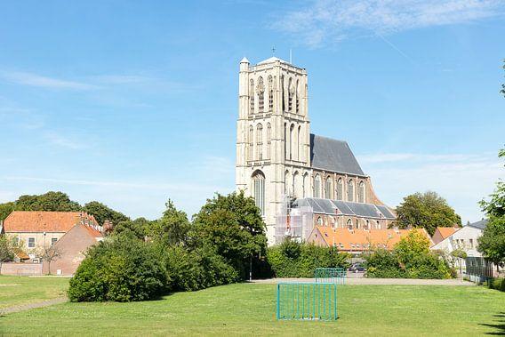 Kerk in Brielle van Michel van Kooten