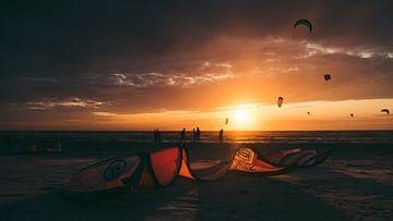 Kitesurfen van Marc Kleen