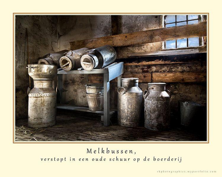 Melkbussen (in kleur) van Ralf Köhnke