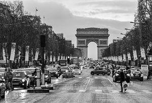 Champs- Éllysees van