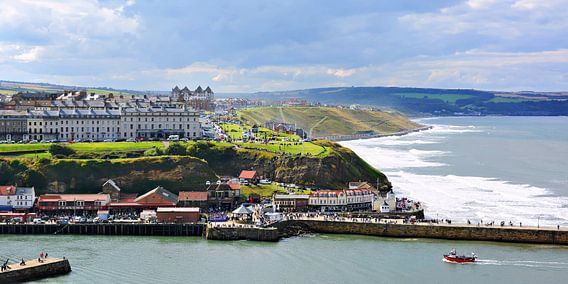 Whitby and the Sea