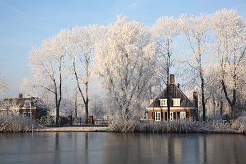 Winter in Nederland van Marit Lindberg